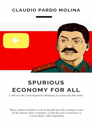 cover image of Spurious Economy for All