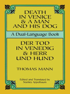 cover image of Death in Venice & A Man and His Dog
