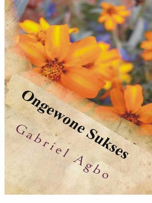 cover image of Ongewone Sukses
