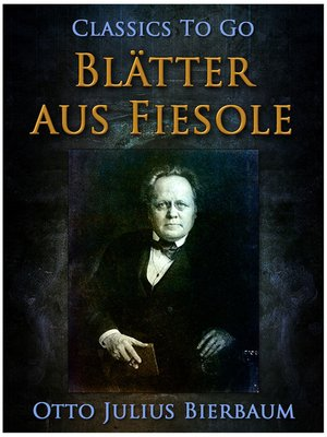 cover image of Blätter aus Fiesole