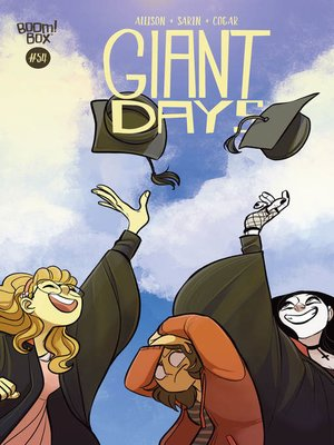 cover image of Giant Days (2015), Issue 54