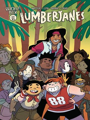 cover image of Lumberjanes (2014), Issue 65