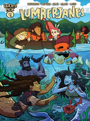 cover image of Lumberjanes (2014), Issue 16
