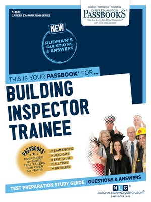 cover image of Building Inspector Trainee