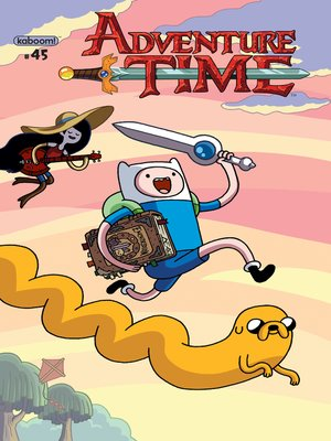 cover image of Adventure Time #45