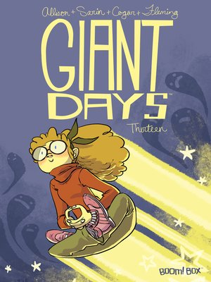 cover image of Giant Days (2015), Issue 13