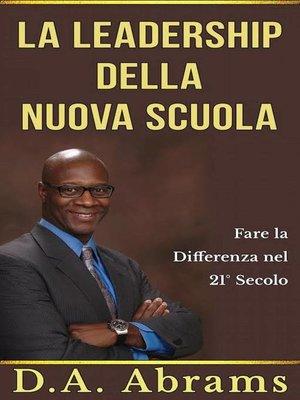 cover image of La leadership della nuova scuola