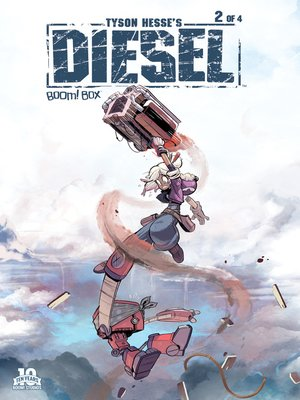 cover image of Tyson Hesse's Diesel (2015), Issue 2