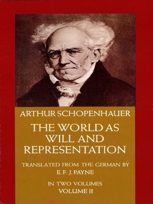 cover image of The World as Will and Representation, Vol. 2