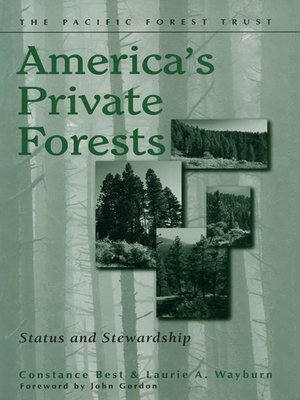 cover image of America's Private Forests
