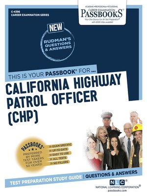 cover image of California Highway Patrol Officer (CHP)