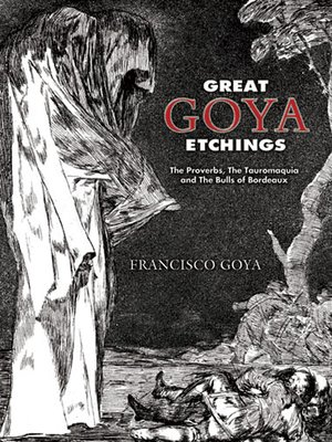 cover image of Great Goya Etchings