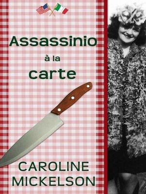 cover image of Assassinio á la carte