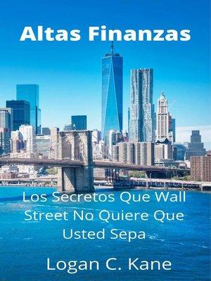 cover image of Altas Finanzas