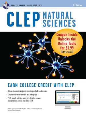 cover image of CLEP Natural Sciences w/ Online Practice Exams