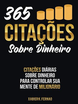 cover image of 365 Citações Sobre Dinheiro