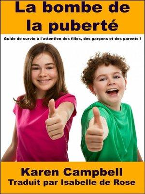 cover image of La bombe de la puberté
