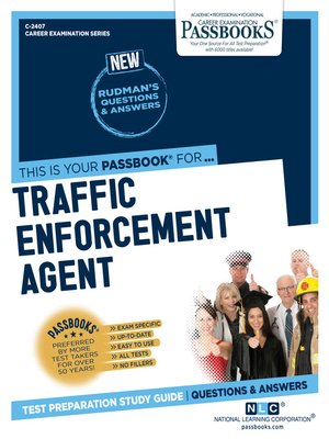 cover image of Traffic Enforcement Agent