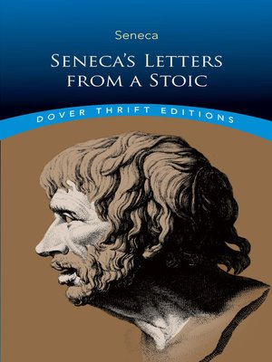 cover image of Seneca's Letters from a Stoic