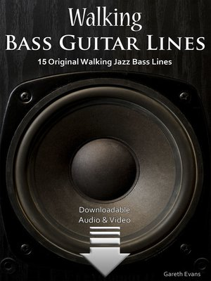 cover image of Walking Bass Guitar Lines