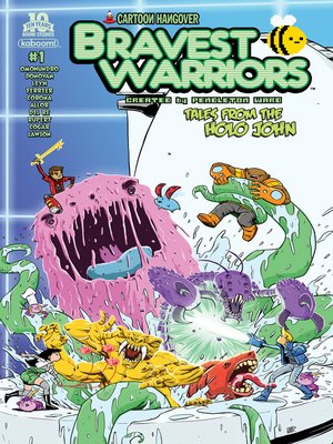 cover image of Bravest Warriors: Tales from the Holo John