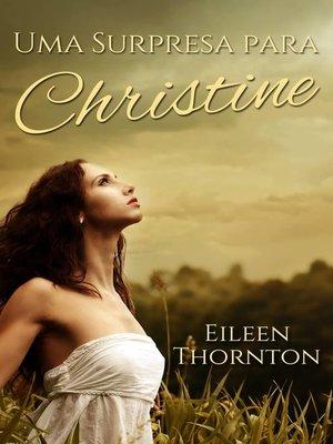 cover image of Uma Surpresa para Christine