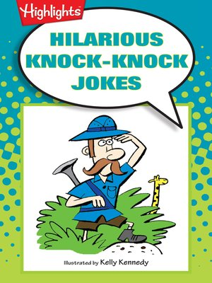 cover image of Hilarious Knock-Knock Jokes
