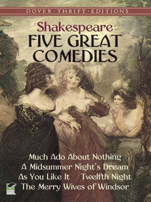 cover image of Five Great Comedies