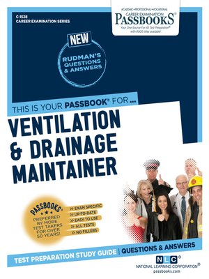 cover image of Ventilation and Drainage Maintainer