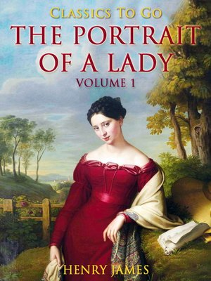 cover image of The Portrait of a Lady, Volume 1