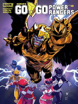 cover image of Saban's Go Go Power Rangers, Issue 18