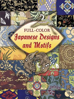 cover image of Full-Color Japanese Designs and Motifs