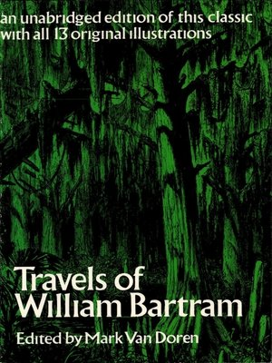 cover image of Travels of William Bartram