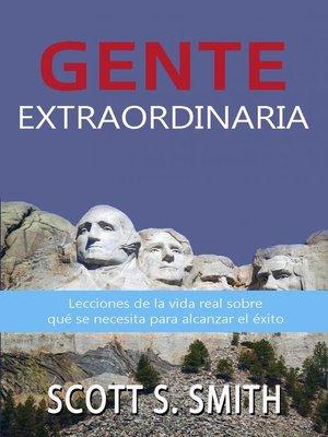 cover image of Gente Extraordinaria
