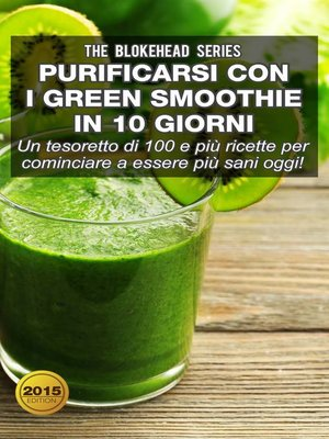 cover image of Purificarsi con i green smoothie in 10 giorni