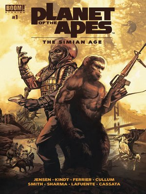 cover image of The Simian Age #1