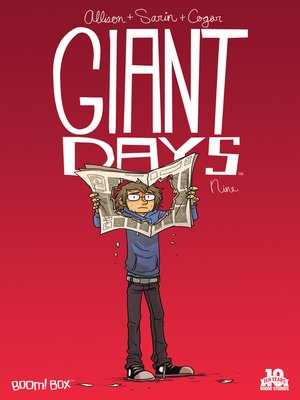 cover image of Giant Days (2015), Issue 9