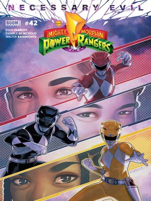 cover image of Mighty Morphin Power Rangers (2016), Issue 42