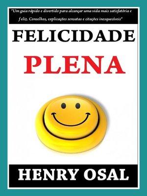 cover image of Felicidade Plena