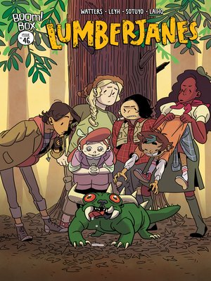 cover image of Lumberjanes, Issue 46
