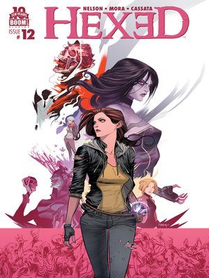 cover image of Hexed: The Harlot and the Thief (2014), Issue 12
