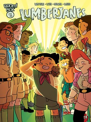 cover image of Lumberjanes, Issue 33