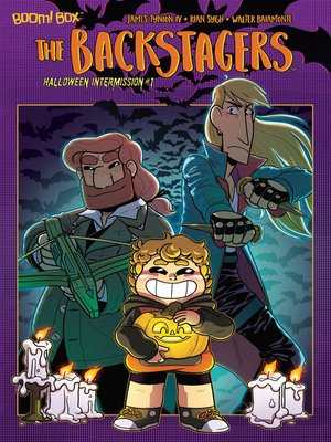 cover image of The Backstagers 2018 Halloween Intermission, Issue 1