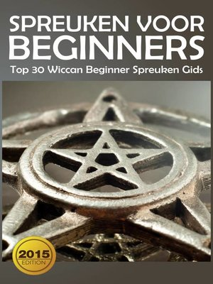 cover image of Spreuken voor beginners