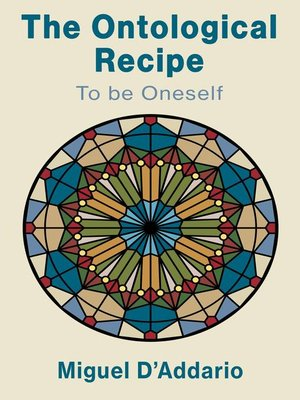 cover image of The Ontological Recipe to be Oneself