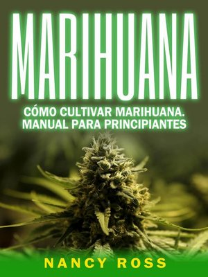 cover image of Marihuana