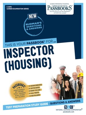 cover image of Inspector (Housing)