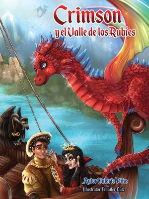 cover image of Crimson y el Valle de los Rubíes