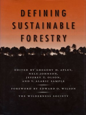 cover image of Defining Sustainable Forestry
