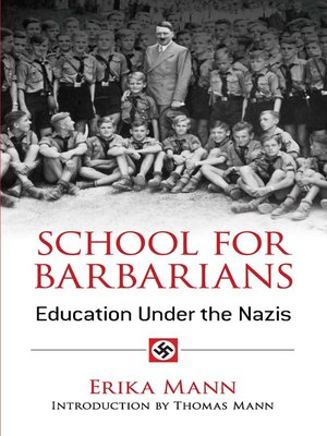 cover image of School for Barbarians